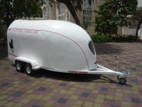 MOTORCYCLE HORSE TRAILER