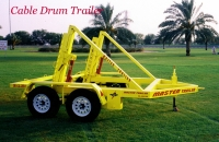 CABLE DRUM TRAILER