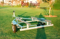 BOAT TRAILER BUNK TYPE 14-18 FT