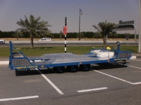 TRIPLE AXLE  BAGGY TRAILER (HEAVY DUTY)